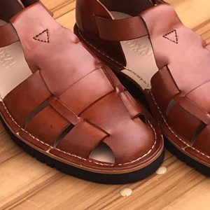 Handcrafted Jozolu fisherman Leather Sandals